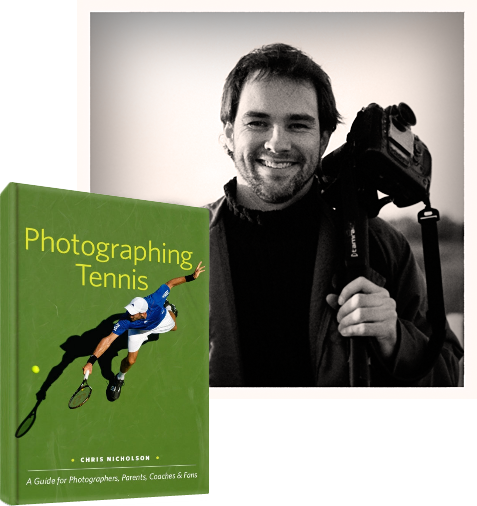 Photographing Tennis & Chris Nicholson